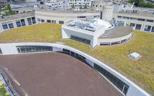 Groen-blauw-dak gemeente Landgraaf