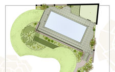Ontwerp achtertuin met zwembad
