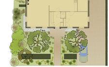 Ontwerp van de tuin van familie Thijssen uit Belfeld
