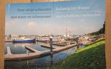 Boek 'Voor altijd verbonden met water en scheepvaart'