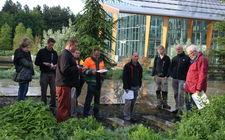 Medewerkers van Jonkers hoveniers volgen de cursus plantenkennis