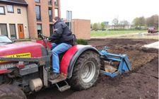 Grondbewerking na aanbrengen bodemverbetering