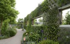 Groene wand Floriade 2012