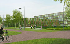Impressie eindbeeld project Wageningen Universiteit