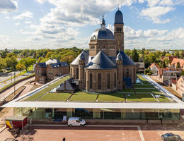 Groen dak Speelhuis Helmond
