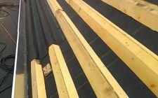Nieuwe dakconstructie Turfdak Corisberghoeve Heerlen