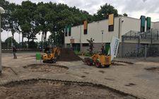 Grondverzet Citaverde college Roermond
